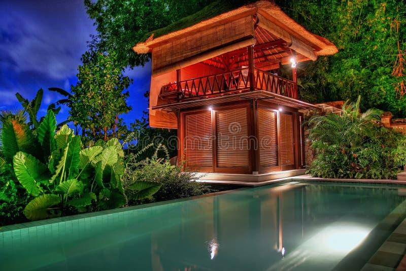 Bali Vila fotografia de stock royalty free