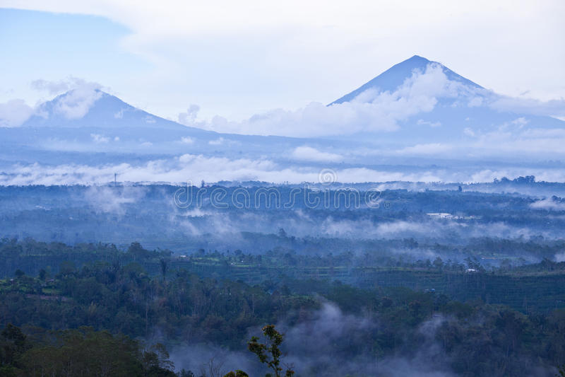 Bali-Vulkan lizenzfreie stockfotografie