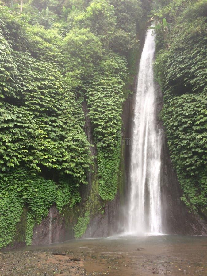Bali waterfall. Niagara Falls Munduk & Melanting, Waterfall located in the village Munduk Munduk, Banjar District, Buleleng regency stock photography