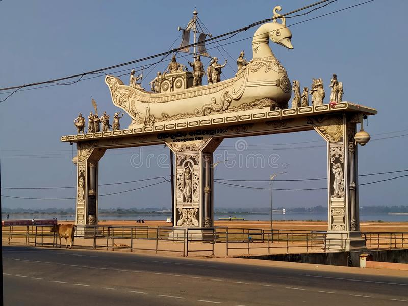 Balijatra Cuttack. Famous Balijatra place of Cuttack where historical Balijatra is celebrated.It is situated near the  bank of river Mahanadi of State Odisha of stock photos