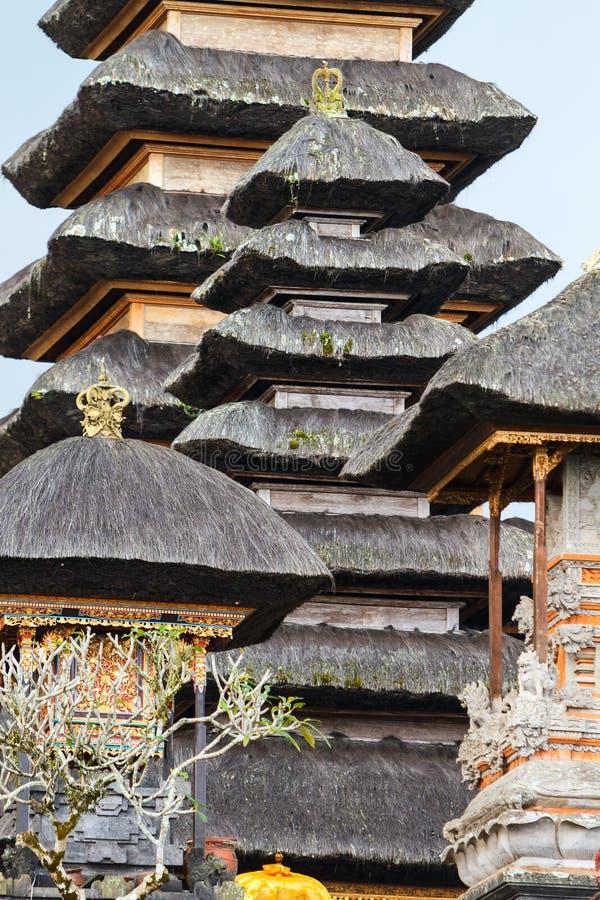 Balijczyk świątyni dach zdjęcie stock