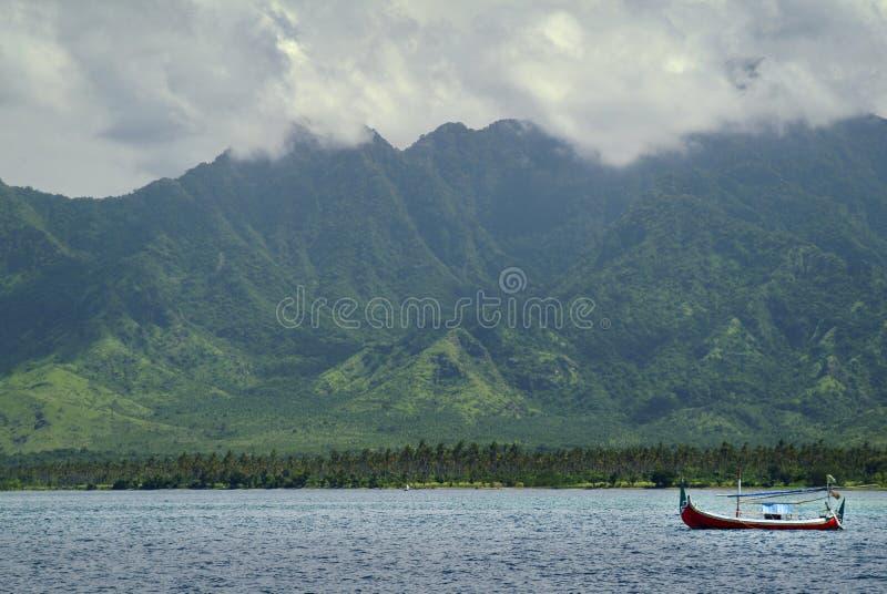 Balijczyka północnego zachodu linia brzegowa zdjęcia royalty free