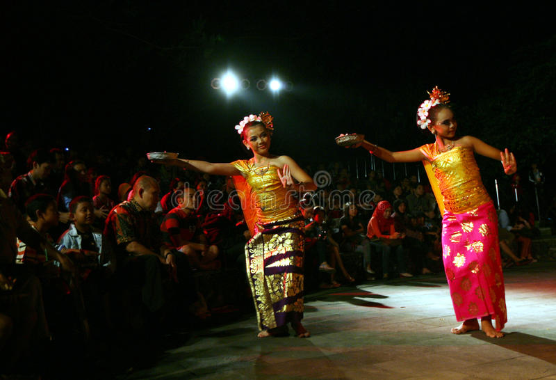 Balijczyka taniec zdjęcia royalty free