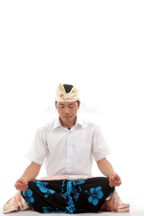 Download Balinese stockbild. Bild von sitting, meditation, bali - 9095873