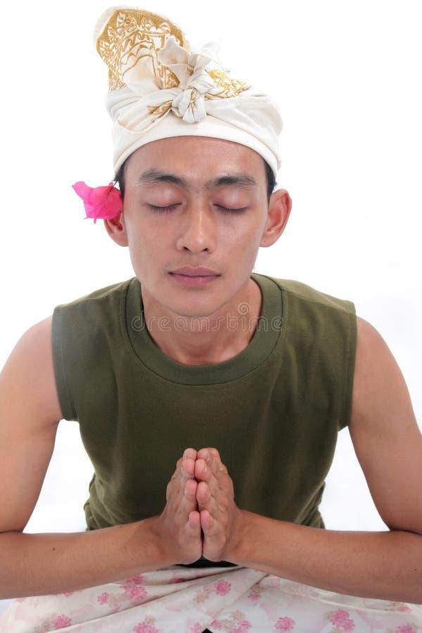Download Balinese stockfoto. Bild von konzentration, winkel, hinduismus - 9095950