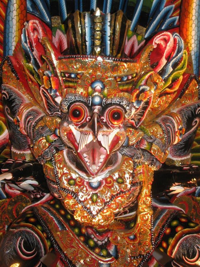 Balinese Barong na exposição imagens de stock royalty free