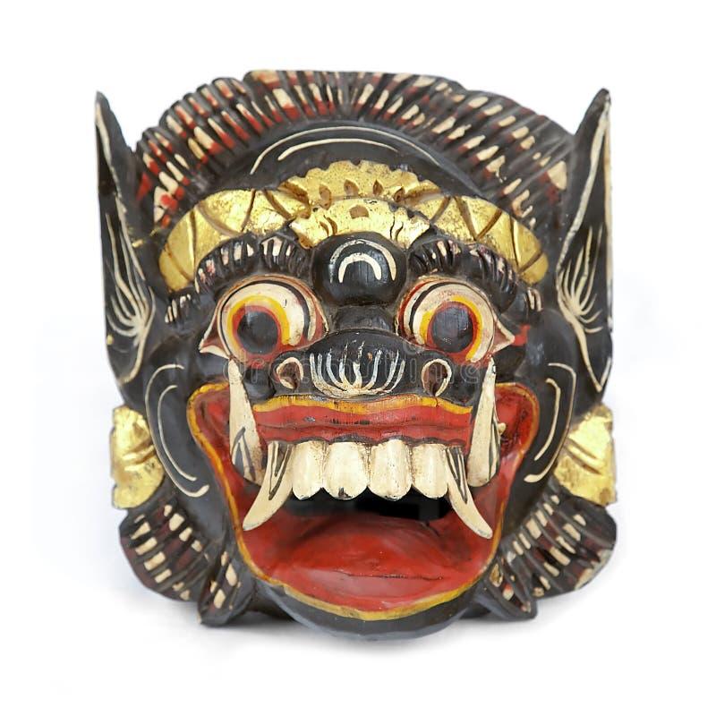 Balinese Barong Schablone lizenzfreie stockbilder