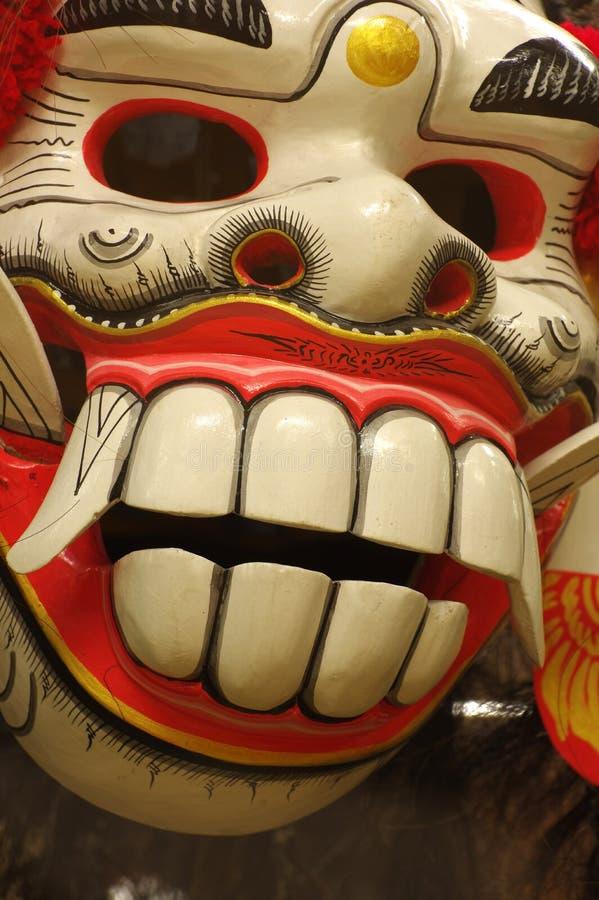 Balinese da máscara fotografia de stock royalty free