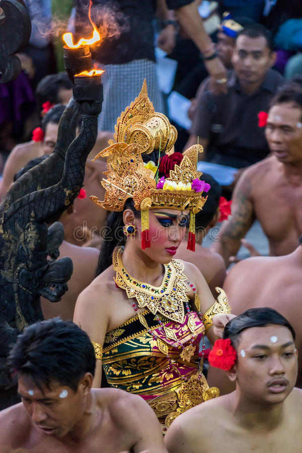 Balinese Dancer royalty free stock photos