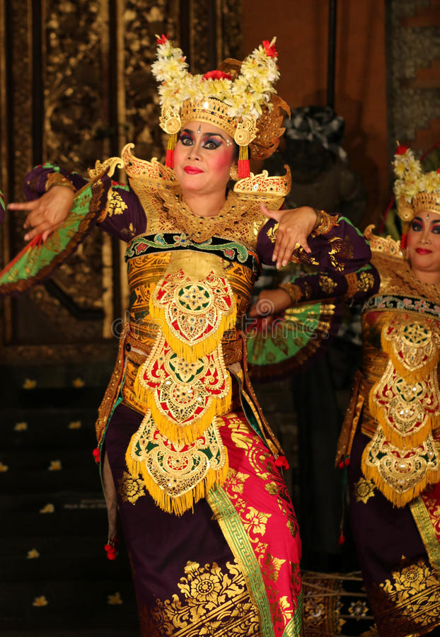 Balinese Dancers royalty free stock images