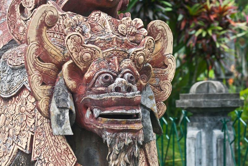 Balinese demon stock photos
