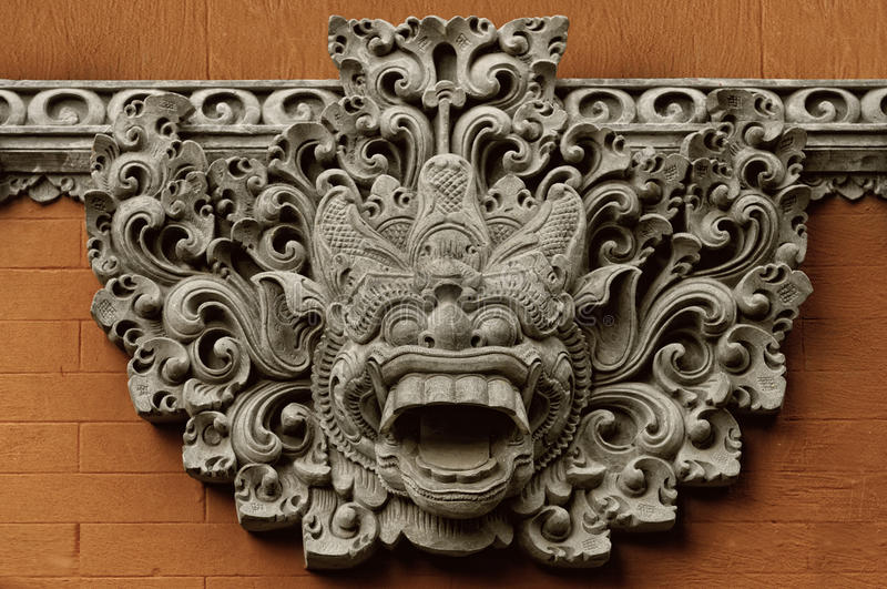 Download Balinese Demon statue stock image. Image of east, history - 16521341