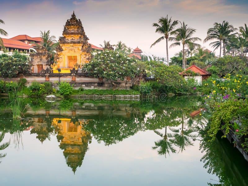 Balinese gateway stock foto