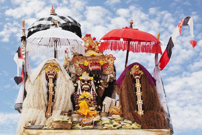 Balinese geesten royalty-vrije stock fotografie