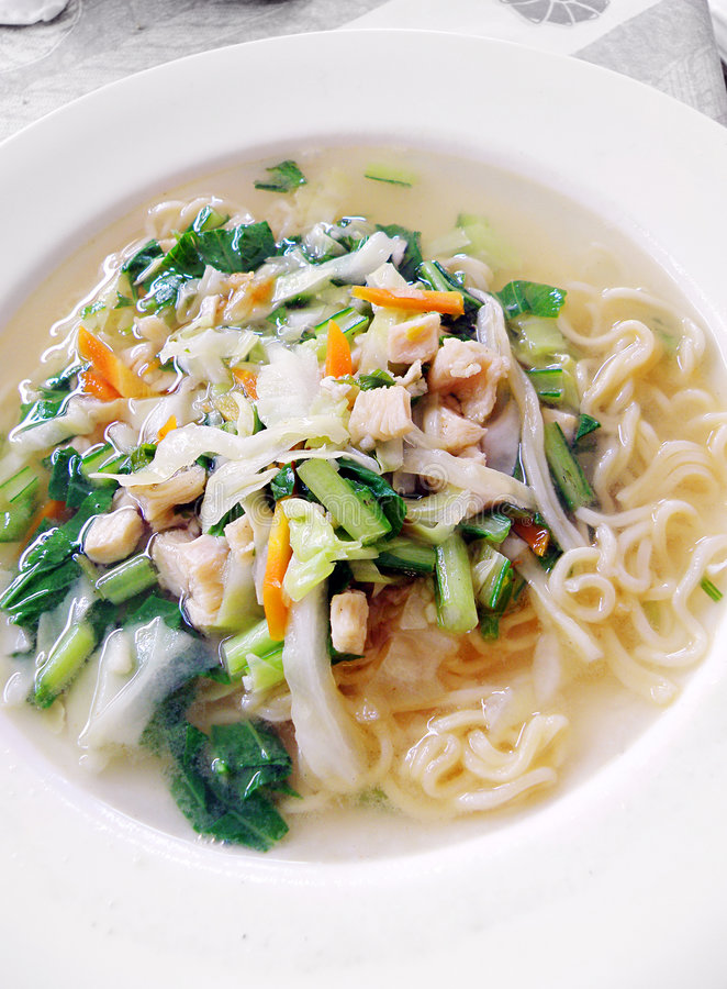 Balinese Noodles Dish Stock Images