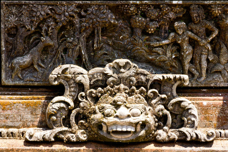Download Balinese sculpture stock photo. Image of temple, destination - 26505268