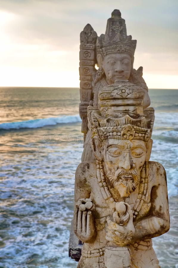 Download Balinese Statue sculpture stock photo. Image of background - 17160622