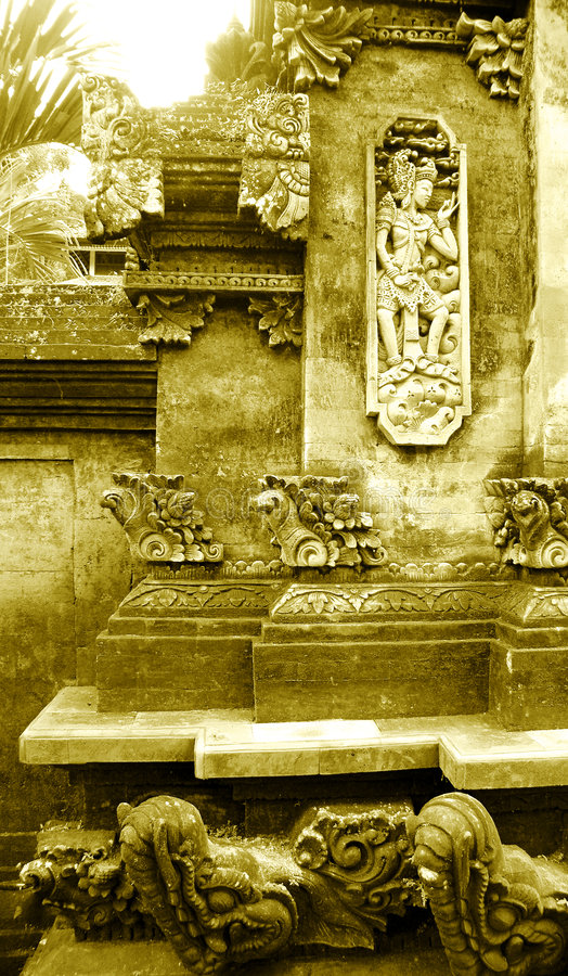 Download Balinese Stone Carving Details Stock Image - Image: 7854169