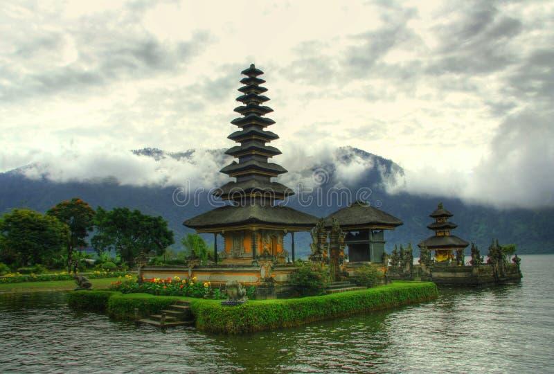 Balinese tempel stock afbeelding