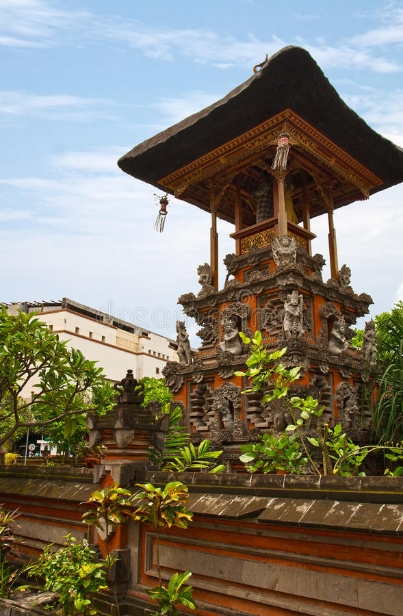 Download Balinese temple stock image. Image of worship, figurine - 24342937