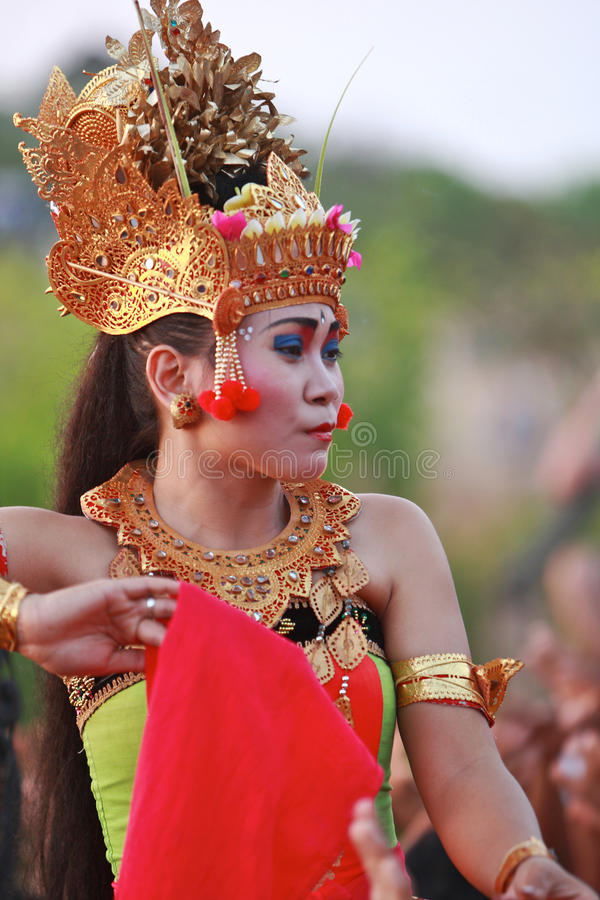 Balinese Traditional Dance Editorial Photography
