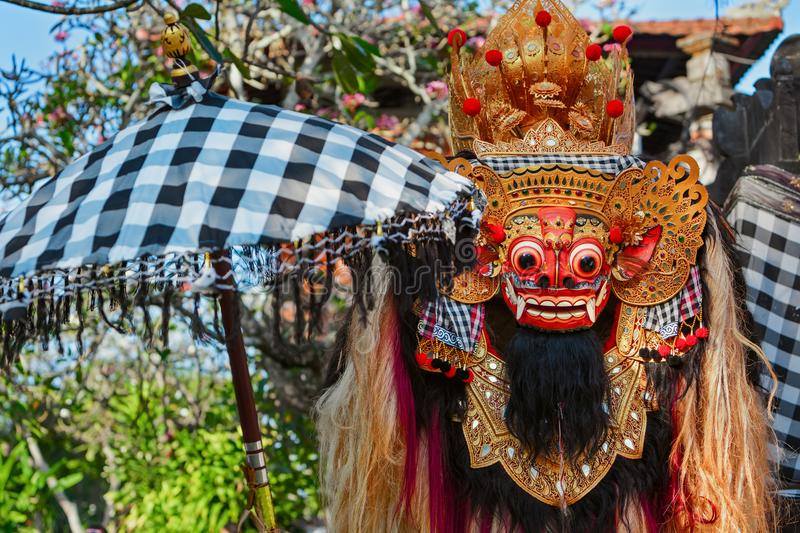 Balinese traditionnel Barong photographie stock libre de droits