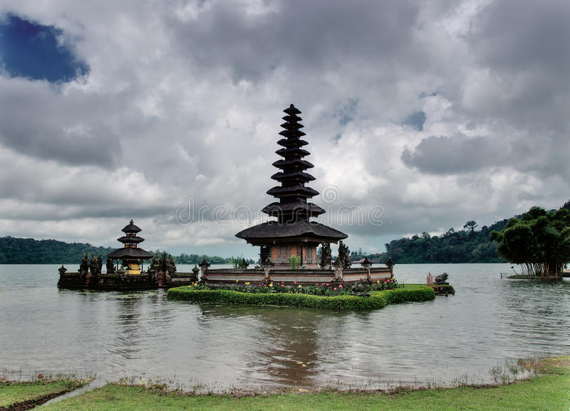 Balinese water temple stock images