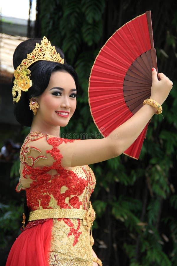 Balineseflicka royaltyfri fotografi