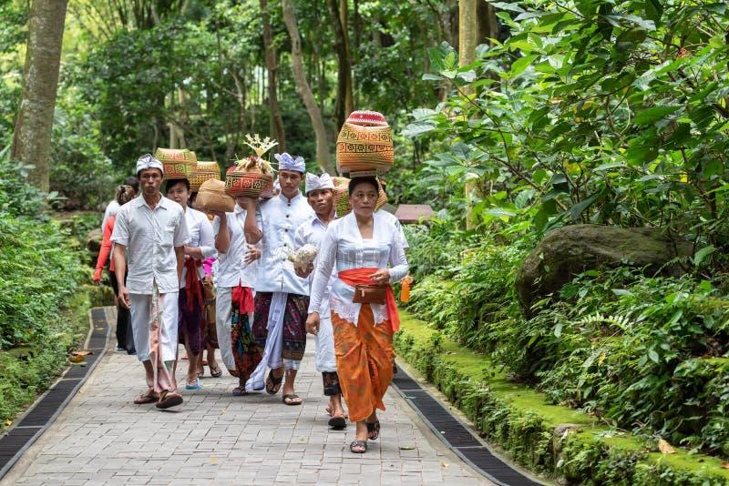 Balinesefolk royaltyfria bilder