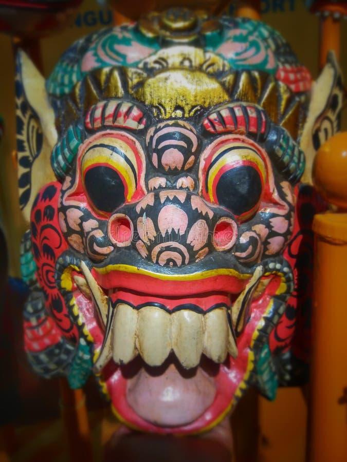 Balinesemaske stockbild