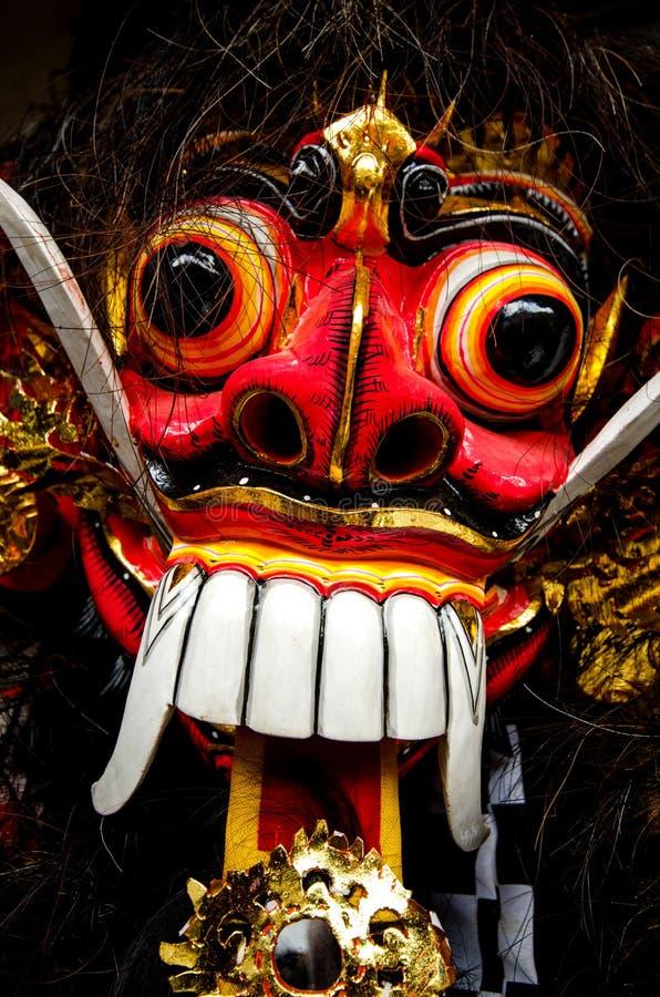 Balinesemaskering royaltyfri fotografi
