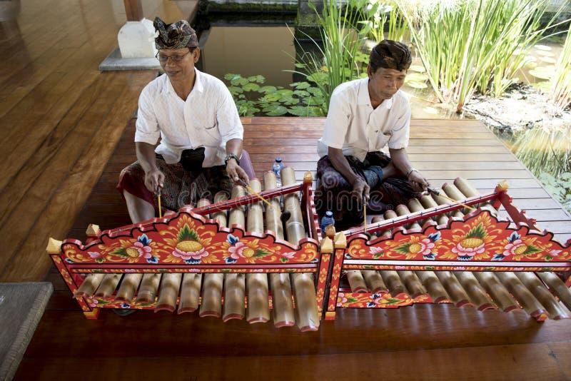 Balinesemusiker stockbilder