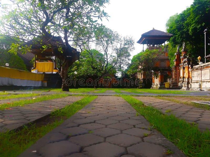 Balinesetempel lizenzfreies stockbild