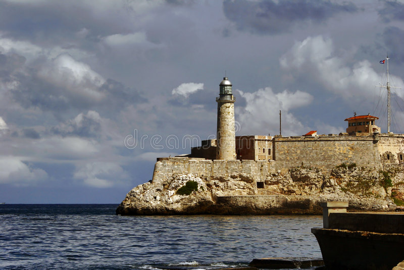 Baliza do capital de Cuba foto de stock royalty free