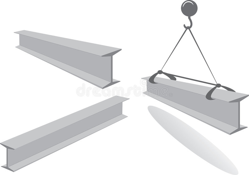 Balk stock illustratie