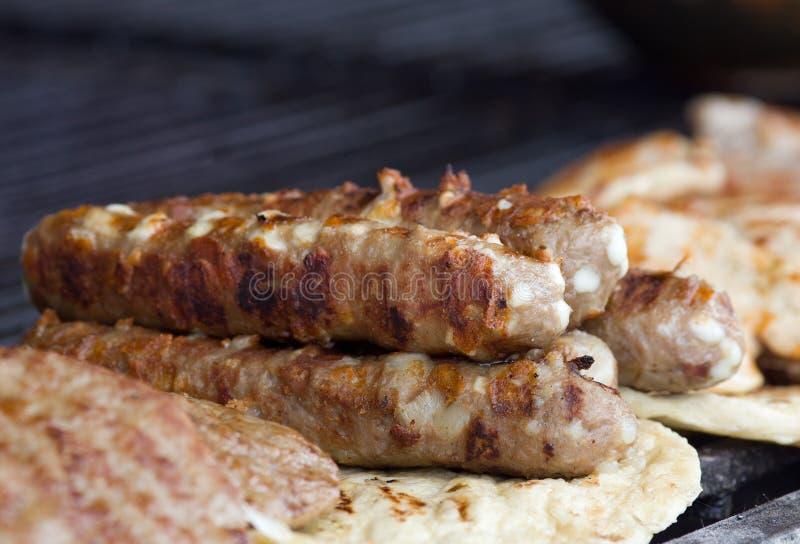 Balkan barbecue royalty-vrije stock afbeelding