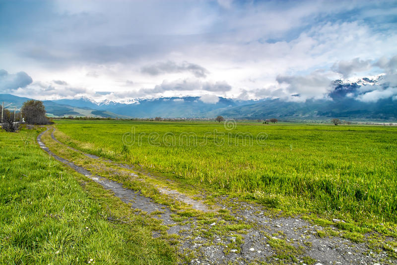 Balkan Bergketen royalty-vrije stock foto