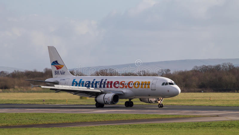 Balkan Holidays Airlines Airbus 320-200 stock images