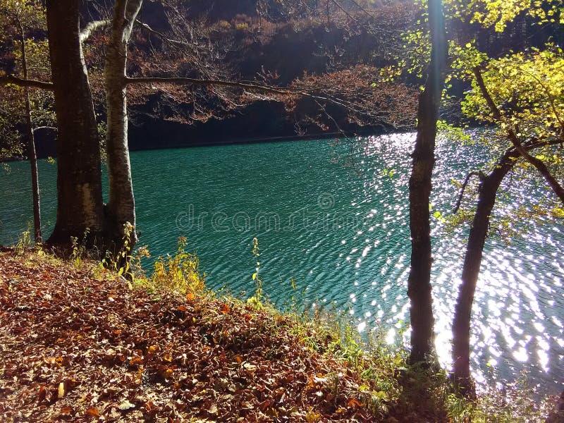 Balkana sjö arkivfoto
