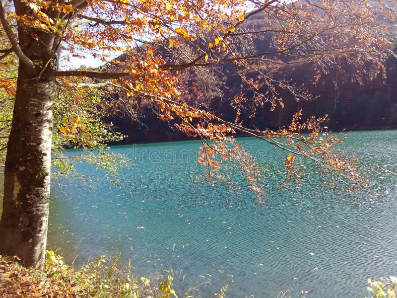 Balkana sjön arkivfoto