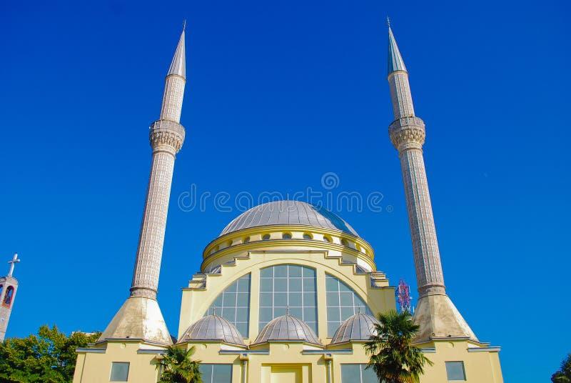 balkans minaretu meczet obraz royalty free