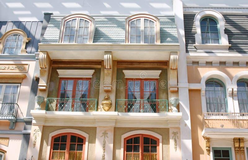 balkon. obraz royalty free
