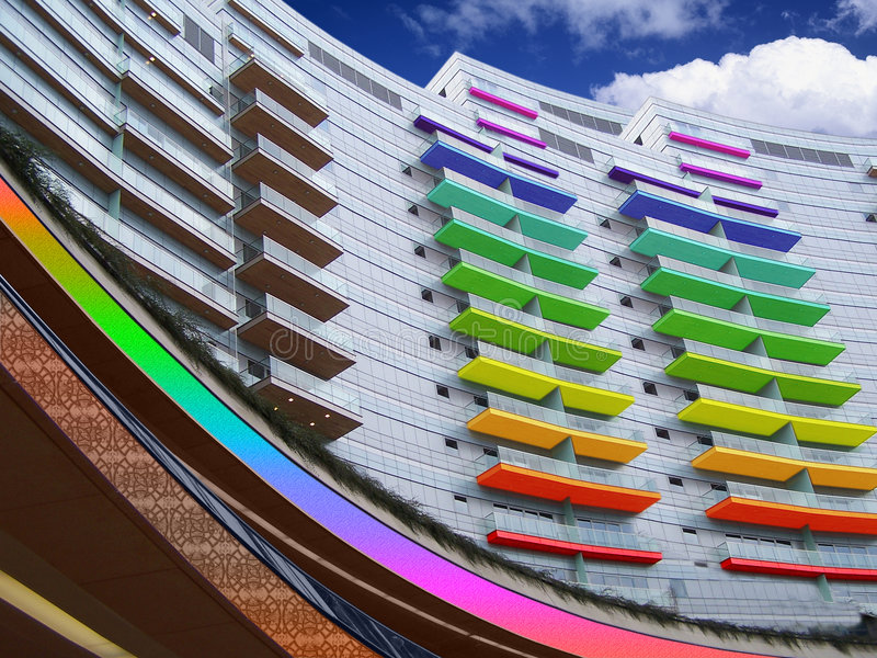 Balkon stock foto