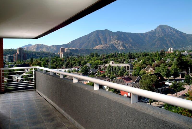 balkon. fotografia stock