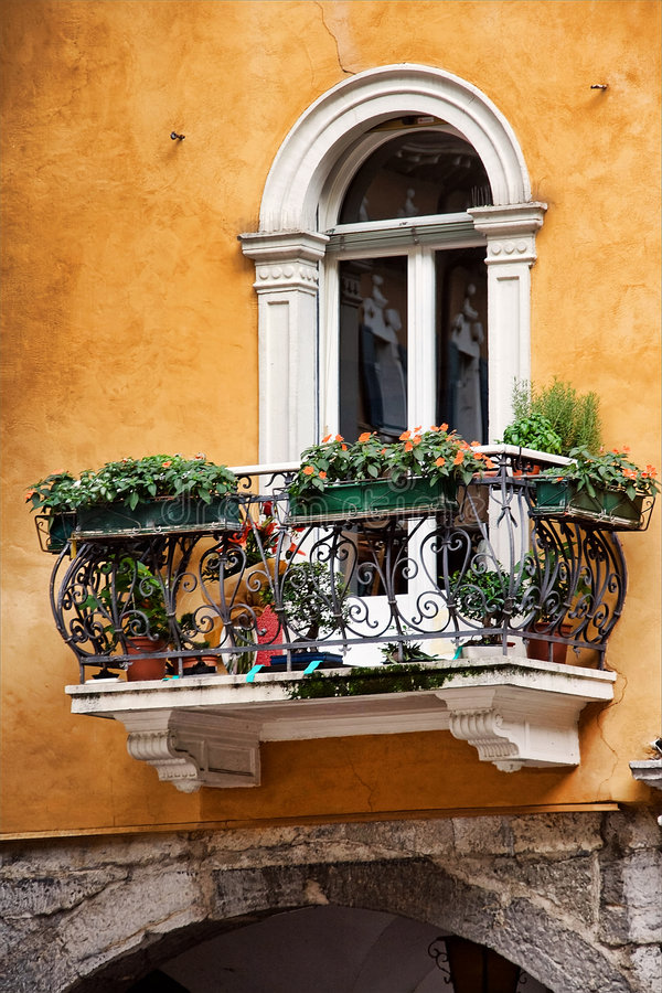 balkon elegancki zdjęcia royalty free