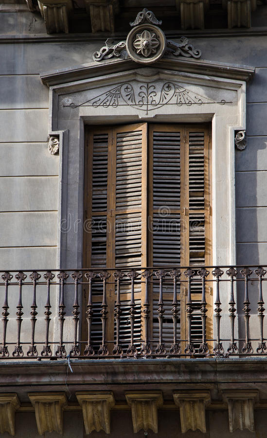 balkong spain arkivbilder