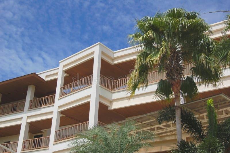 balkonghotell arkivbild