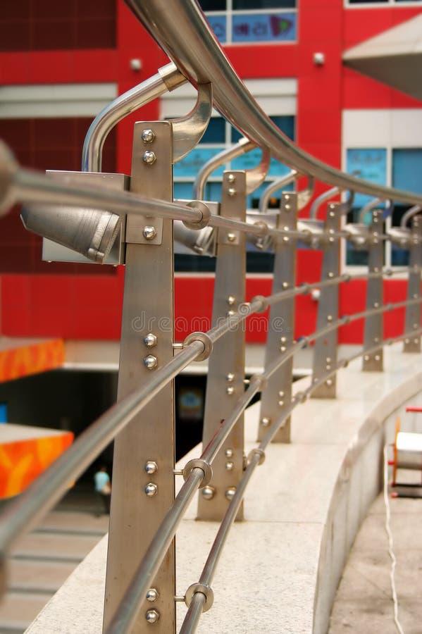 balkongräcke arkivfoto