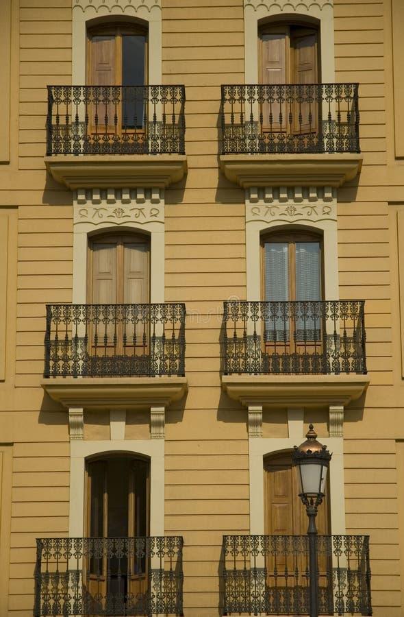 balkonowi okno obraz stock