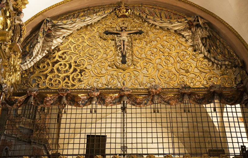 balkonowy Clara kościoła Meksyku zakonnic queretaro Mikołaja zdjęcie stock